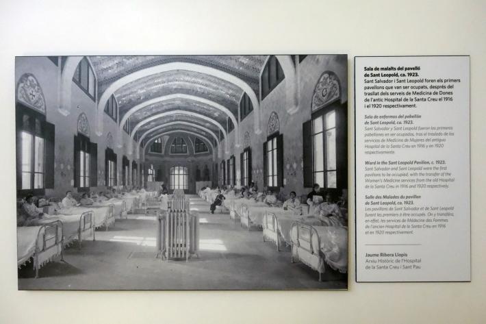 サン・パウ病院 Hospital de Sant Pau リュイス・ドメネク・イ・ムンタネー Sant Pau Recinte Modernista 世界遺産 2018年9月 バルセロナの旅(4)_f0117059_16243543.jpg
