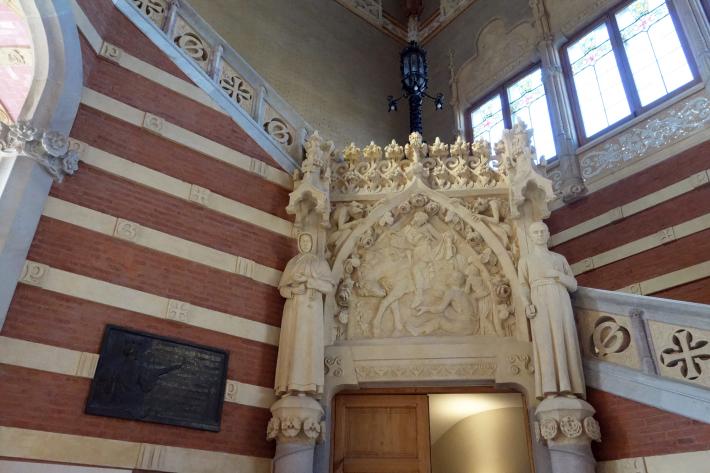 サン・パウ病院 Hospital de Sant Pau リュイス・ドメネク・イ・ムンタネー Sant Pau Recinte Modernista 世界遺産 2018年9月 バルセロナの旅(4)_f0117059_16251625.jpg