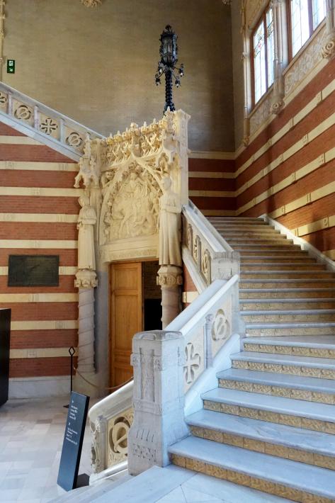 サン・パウ病院 Hospital de Sant Pau リュイス・ドメネク・イ・ムンタネー Sant Pau Recinte Modernista 世界遺産 2018年9月 バルセロナの旅(4)_f0117059_16252218.jpg
