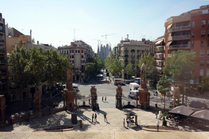 サン・パウ病院 Hospital de Sant Pau リュイス・ドメネク・イ・ムンタネー Sant Pau Recinte Modernista 世界遺産 2018年9月 バルセロナの旅(4)_f0117059_16252652.jpg