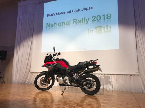 BMW BMCJナショナルラリー in 砺波_e0254365_21465217.jpg