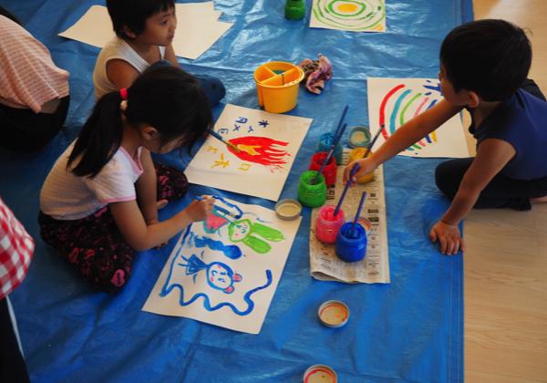 5歳児 絵の具遊び_b0068572_09153184.jpg