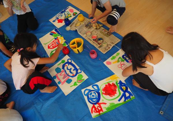 5歳児 絵の具遊び_b0068572_09153551.jpg