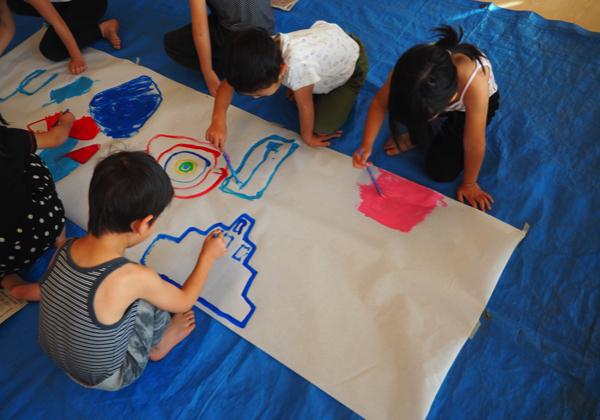 5歳児 絵の具遊び_b0068572_09154653.jpg