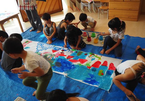 5歳児 絵の具遊び_b0068572_09160091.jpg