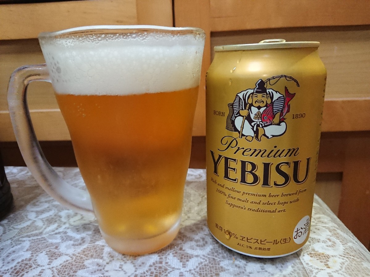 11/9  ヱビスビール &  日本ハムグラタンピザ  & yonekyu御殿場高原あらびきポーク_b0042308_08072092.jpg