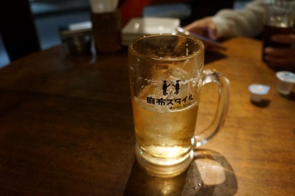 東麻布の屋上ビールから麻布十番の焼肉_c0180686_23290840.jpg