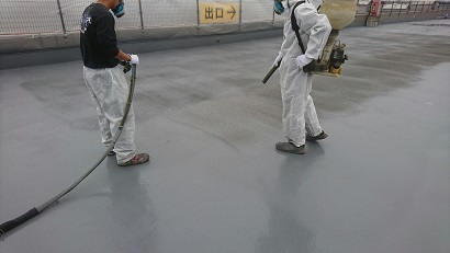 某ホームセンター屋上駐車場防水改修工事(鶴ヶ島市)_c0183605_16153505.jpg