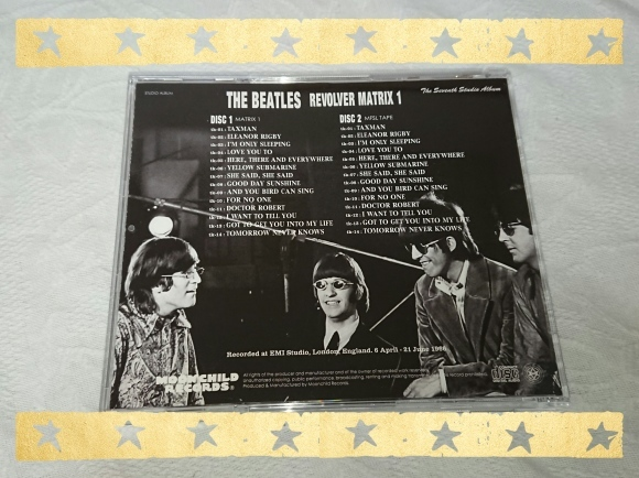THE BEATLES / REVOLVER MATRIX1_b0042308_01073039.jpg