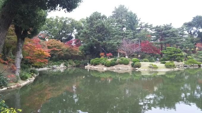 縮景園紅葉、そろそろ見頃です_e0094315_14563437.jpg