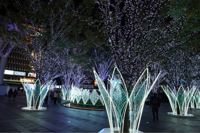 博多駅前が綺麗でした。_b0028732_23365800.jpg