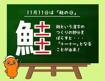 11月11日は『鮭の日』なのだ!_c0259934_15462090.jpg
