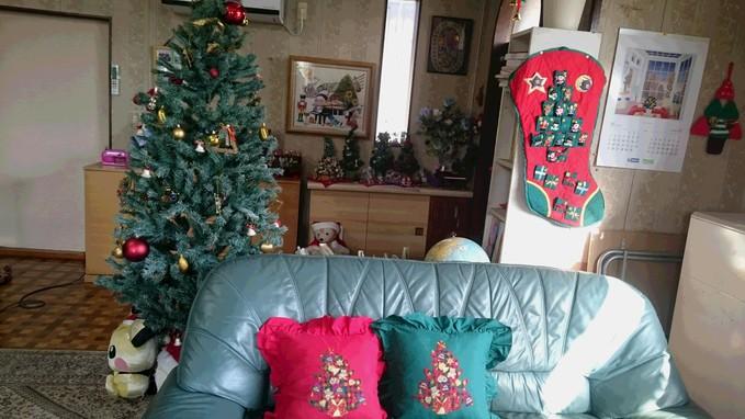 クリスマスに飾りつけ☆彡_e0040673_9233677.jpg