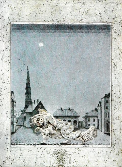 カイ・ニールセン画:アンデルセン童話から「火打箱」と「錫の兵隊」_c0084183_11135452.jpg