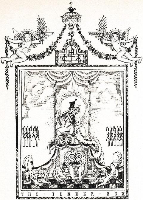 カイ・ニールセン画:アンデルセン童話から「火打箱」と「錫の兵隊」_c0084183_11141558.jpg