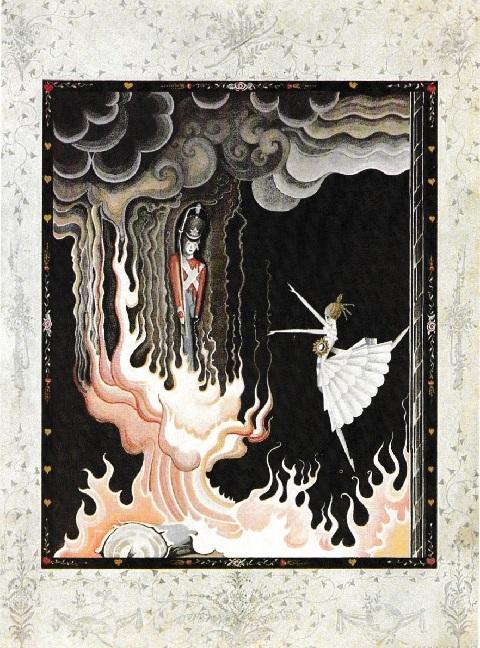 カイ・ニールセン画:アンデルセン童話から「火打箱」と「錫の兵隊」_c0084183_11144075.jpg