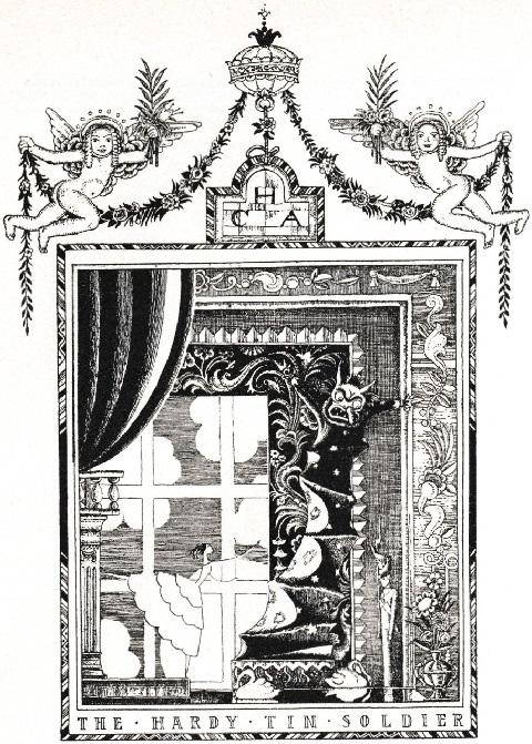 カイ・ニールセン画:アンデルセン童話から「火打箱」と「錫の兵隊」_c0084183_11145831.jpg