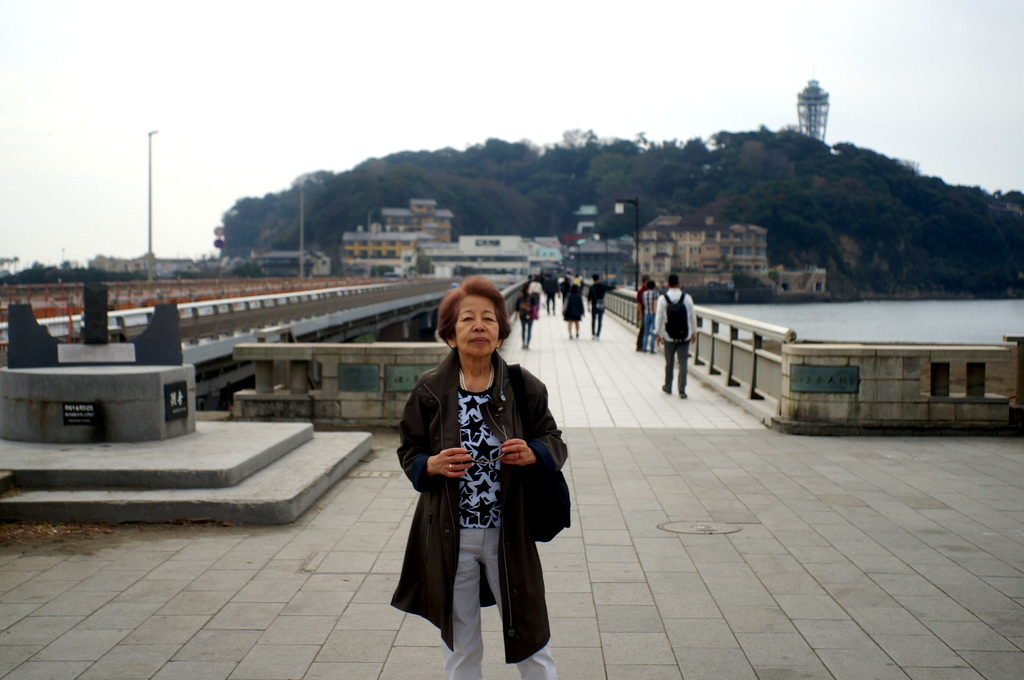 江ノ島から腰越、根津から谷中の一日_c0180686_18451424.jpg
