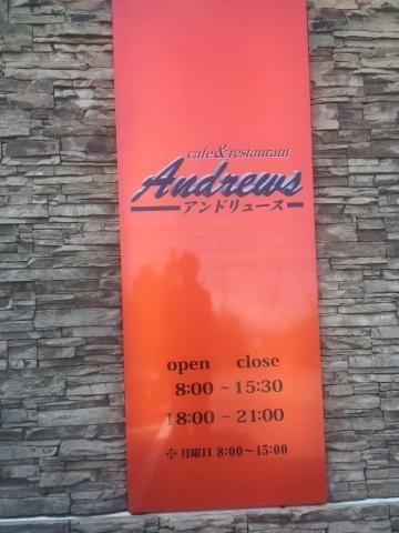 cafe & restaurant アンドリュース  グリルチキンジンジャーソース_e0115904_04034137.jpg