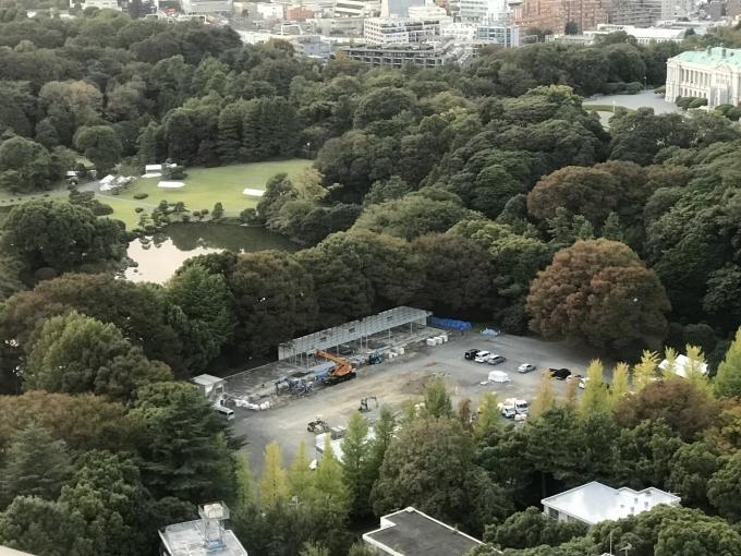 平成最後の秋の園遊会はスクリーン_d0054704_15350837.jpg