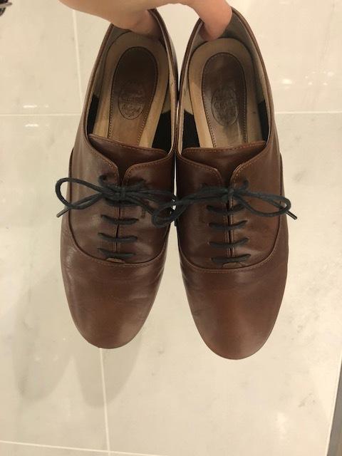 はじめて買った革靴と向き合う_b0226322_10350967.jpg