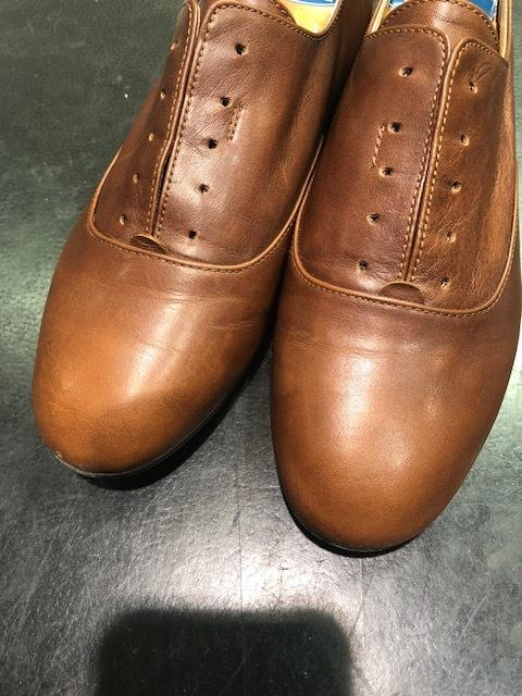 はじめて買った革靴と向き合う_b0226322_10351320.jpg
