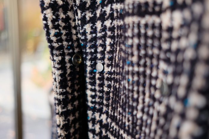 """Today\'s Styling~Blue Nep Tweed Coat。。。...11/14wed""_d0153941_17431913.jpg"