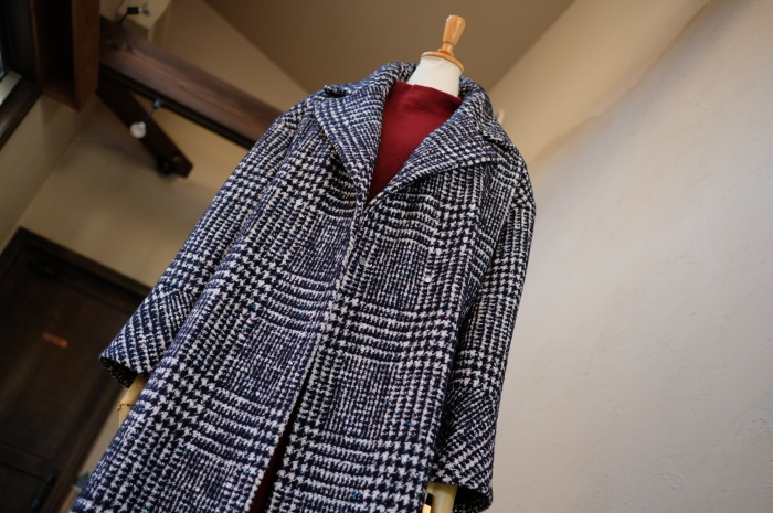 """Today\'s Styling~Blue Nep Tweed Coat。。。...11/14wed""_d0153941_17433481.jpg"