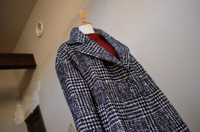 """Today\'s Styling~Blue Nep Tweed Coat。。。...11/14wed""_d0153941_17433933.jpg"