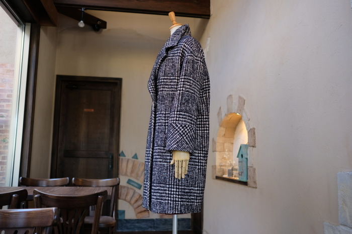 """Today\'s Styling~Blue Nep Tweed Coat。。。...11/14wed""_d0153941_17434515.jpg"