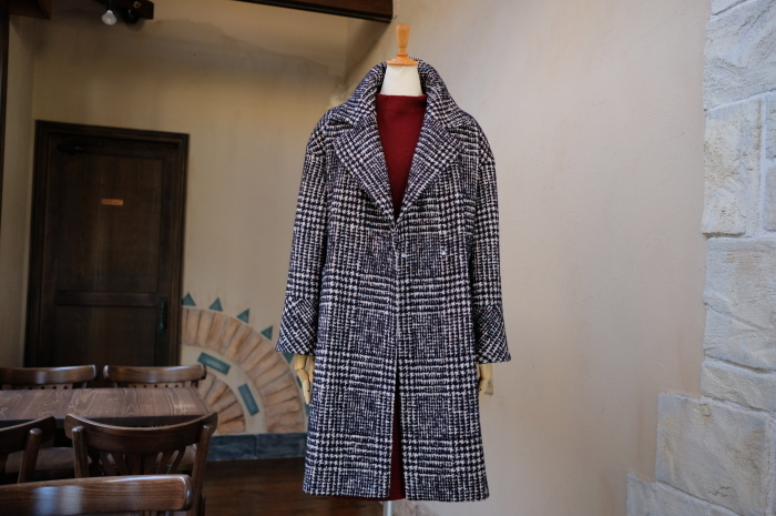 """Today\'s Styling~Blue Nep Tweed Coat。。。...11/14wed""_d0153941_17440211.jpg"