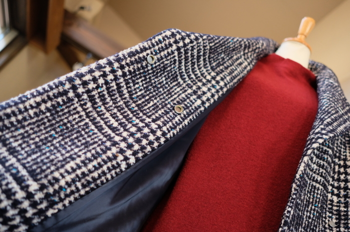 """Today\'s Styling~Blue Nep Tweed Coat。。。...11/14wed""_d0153941_17440794.jpg"
