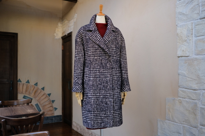 """Today\'s Styling~Blue Nep Tweed Coat。。。...11/14wed""_d0153941_17441698.jpg"