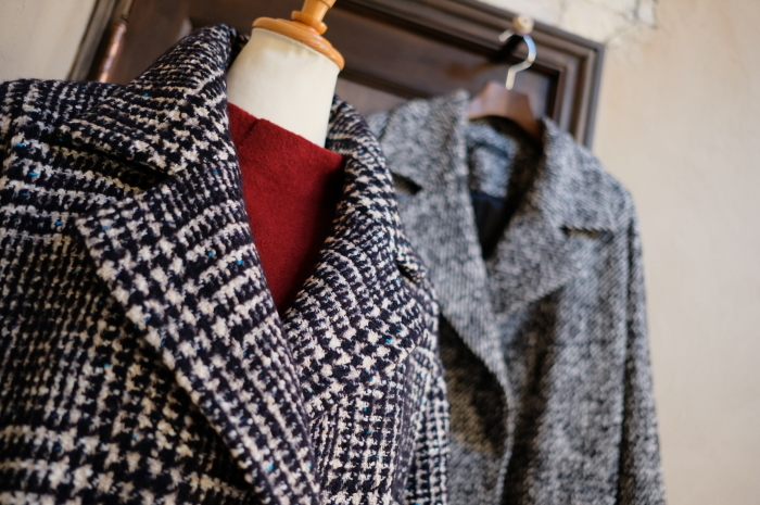 """Today\'s Styling~Blue Nep Tweed Coat。。。...11/14wed""_d0153941_17442880.jpg"
