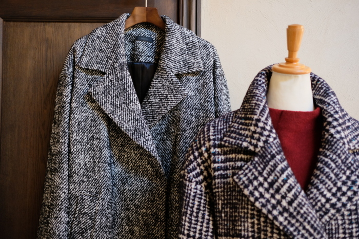 """Today\'s Styling~Blue Nep Tweed Coat。。。...11/14wed""_d0153941_17444379.jpg"