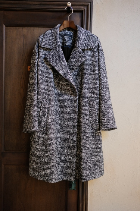 """Today\'s Styling~Blue Nep Tweed Coat。。。...11/14wed""_d0153941_17445338.jpg"