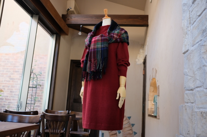 """Today\'s Styling~Blue Nep Tweed Coat。。。...11/14wed""_d0153941_17462048.jpg"