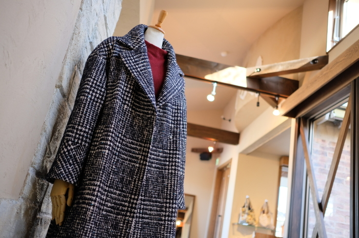"""Today\'s Styling~Blue Nep Tweed Coat。。。...11/14wed""_d0153941_17470476.jpg"