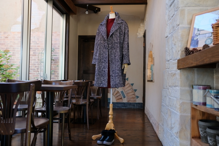 """Today\'s Styling~Blue Nep Tweed Coat。。。...11/14wed""_d0153941_17473428.jpg"
