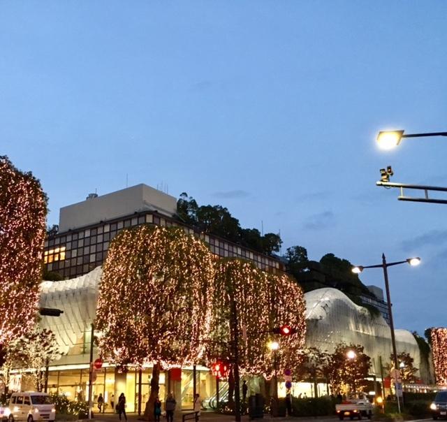 evening @RIZE  イルミネーションとお好み焼き♪_a0165160_15500159.jpg
