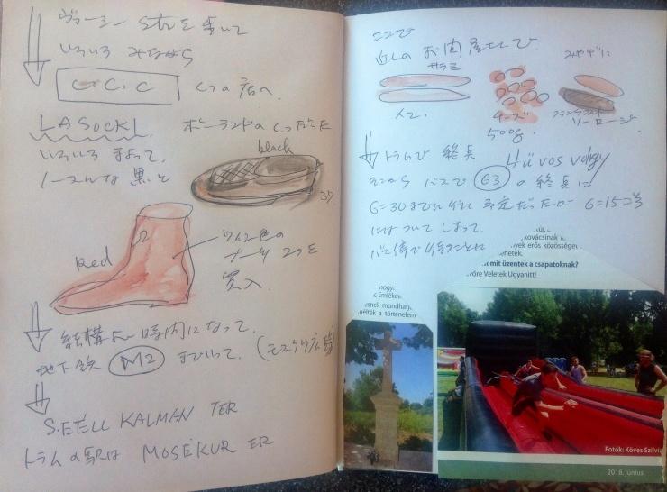 ハンガリー絵日記  11月6日 のこと_c0100195_01150735.jpg