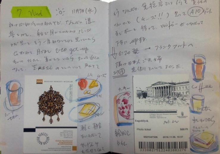 ハンガリー日記 11月7日 ブタベストから 京都_c0100195_10263398.jpg