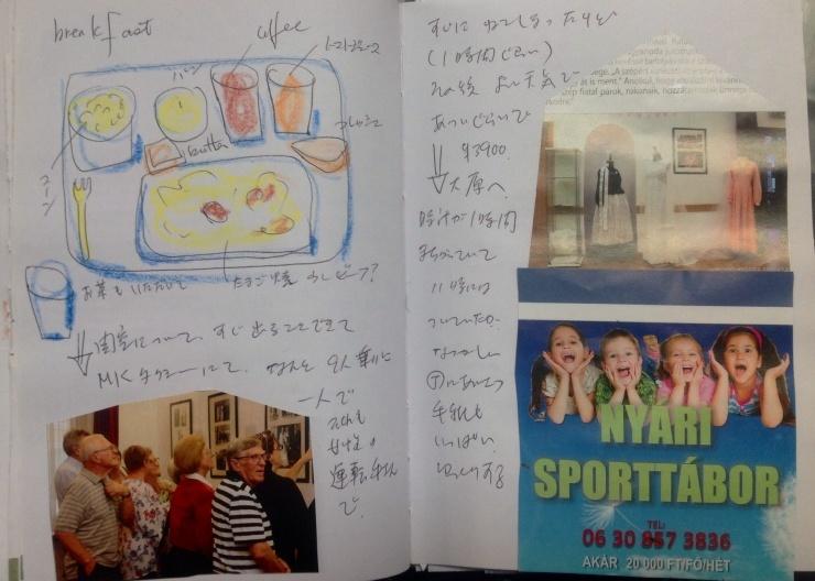 ハンガリー日記 11月7日 ブタベストから 京都_c0100195_10374236.jpg