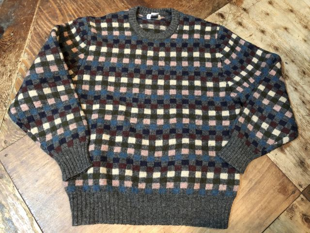 11月15日(木)入荷! 80s〜 Cacharel all virgin wool セーター_c0144020_15080688.jpg