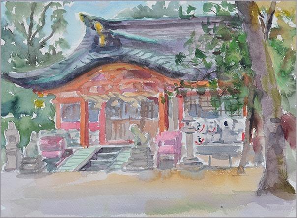 淡彩風景画講座・12月のテーマ「寺院を描く」ご紹介_b0212226_10444975.jpg