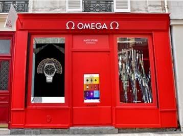 オメガ パリに初のポップアップブティックをオープン_f0039351_17302052.jpg