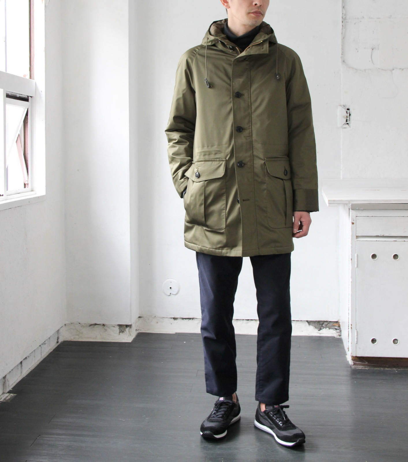 Thin Down Winter Mods Coat_c0379477_18543580.jpg