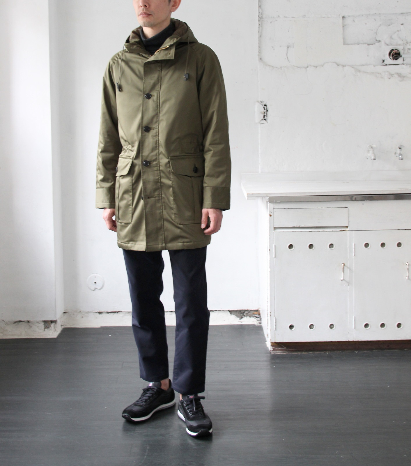 Thin Down Winter Mods Coat_c0379477_18545609.jpg