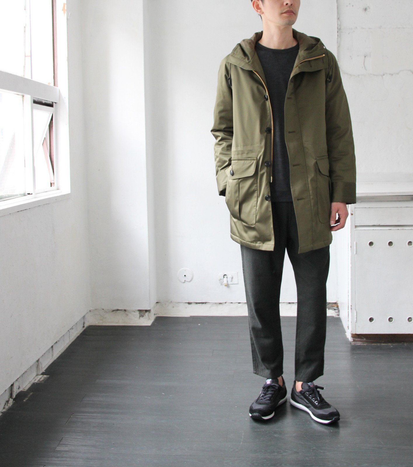 Thin Down Winter Mods Coat_c0379477_18564727.jpg
