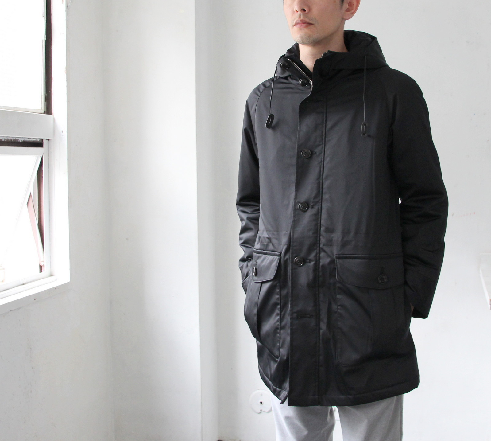 Thin Down Winter Mods Coat_c0379477_18570419.jpg